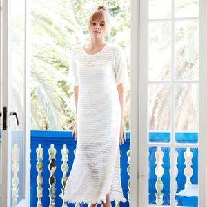 Callahan Anthropologie Knitted Maxi Boho Dress